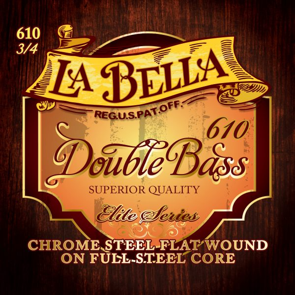 La Bella 610 Orchestral Double Bass Strings 3/4