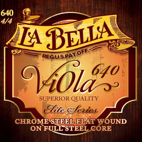 La Bella 640 Orchestral Viola Strings