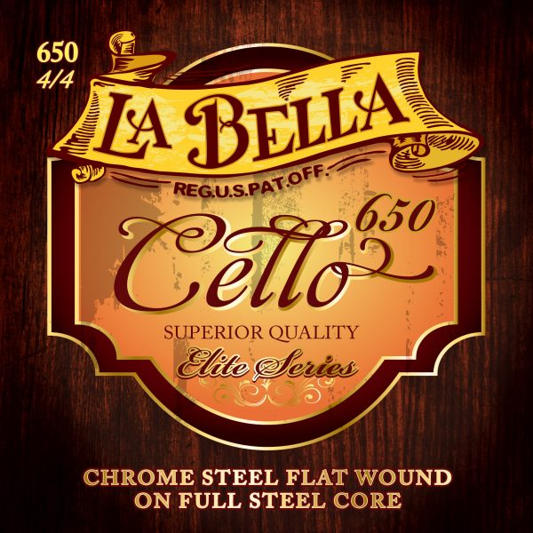 La Bella 650 Orchestral Cello Strings