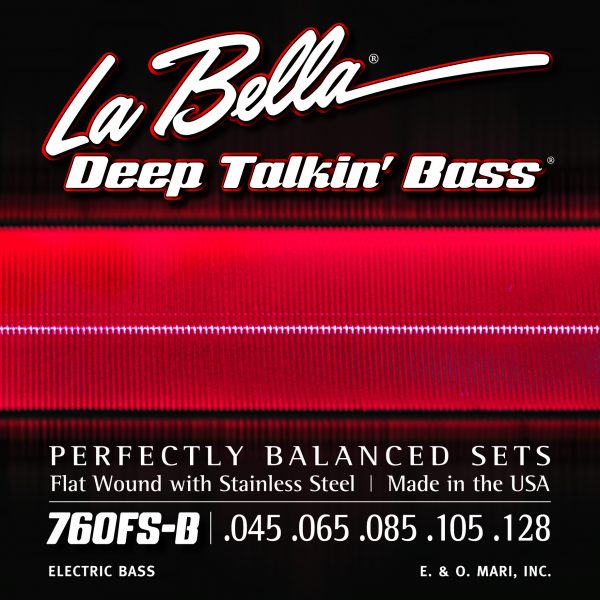 LaBella 760FS-B Deep Talkin' Bass 5 string