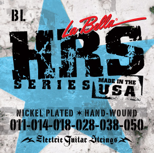 La Bella HRS-BL Blues Light 11-50