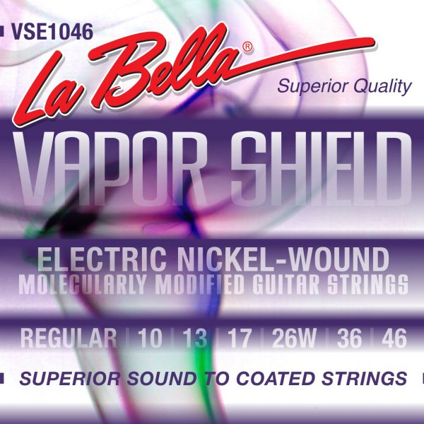 La Bella VSE1046 Vapor Shield Nickel 10-46