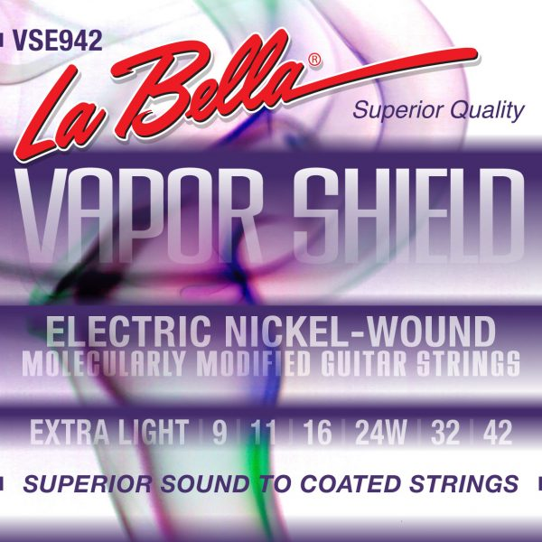 La Bella VSE942 Vapor Shield Nickel 9-42