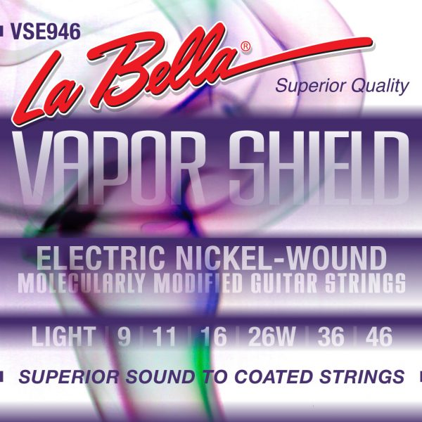 La Bella VSE946 Vapor Shield Nickel 9-46