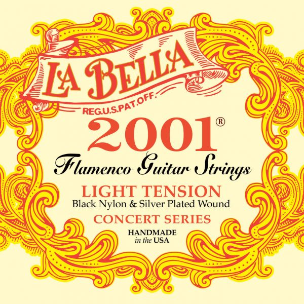 La Bella 2001 Flamenco Light Tension