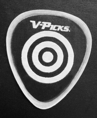 V-Picks Bulls Eye Ghost Rim