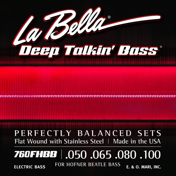 "La Bella 760FHBB Deep Talkin' Bass ""Beatle Bass"" Medium"