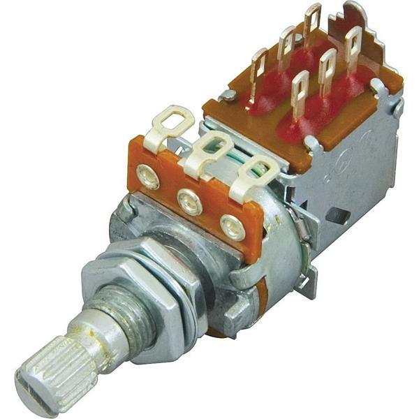 DiMarzio EP1201PP Push/Pull 500K POT, DPDT Switch, Audio Taper