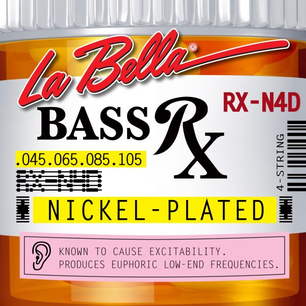 La Bella RX-N4D Nickel 45-105