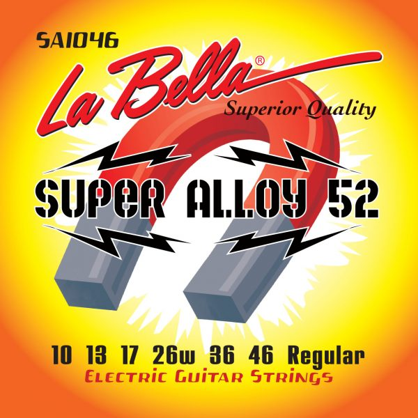 La Bella Super Alloy 52 Regular 10-46
