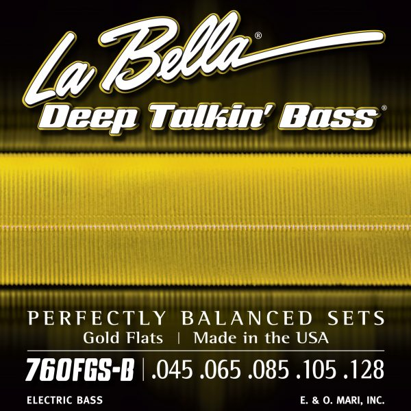 La Bella 760FGS-B Deep Talkin' Bass Gold 5 String