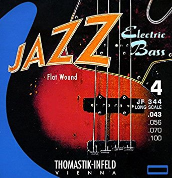 Thomastik-Infeld JF344 Jazz Flat Wound 34″