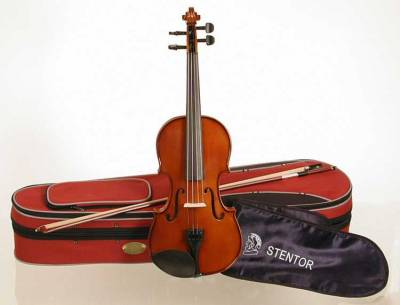 Stentor ST1500 Student II Violin Outfit 1/2