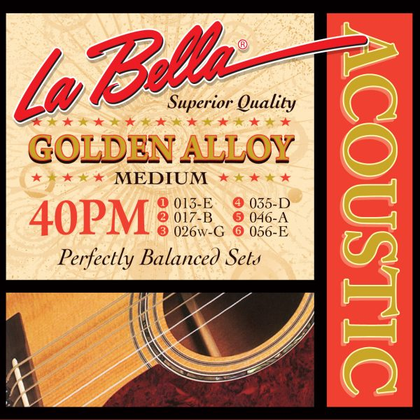 La Bella 40PM Golden Alloy