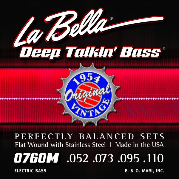 La Bella 0760M Deep Talkin' Bass 1954 Original Vintage