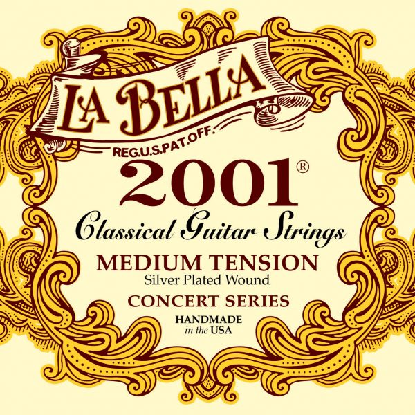 La Bella 2001 Classical Concert Series Medium Tension