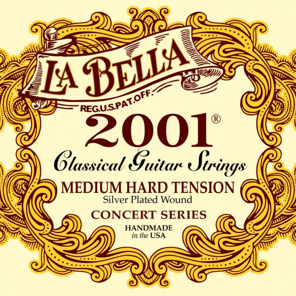 La Bella 2001 Classical Concert Series Medium Hard Tension
