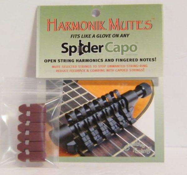 Spider Capo Harmonic Mutes