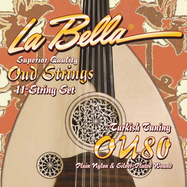 La Bella OU80 Oud String Set Turkish tuning