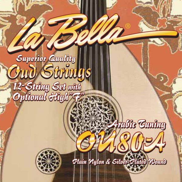 La Bella OU80A Oud String Set Arabic tuning