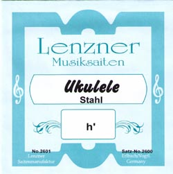 Lenzner 2600 Steel Strings for Ukulele
