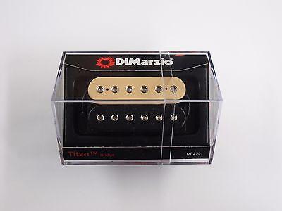 DiMarzio DP259 Titan Black-Cream Bridge Pickup