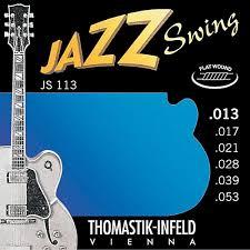 Thomastik-Infeld JS113 Jazz Swing Flat Wound 13-53