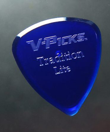V-Picks Tradition Light Sapphire Blue