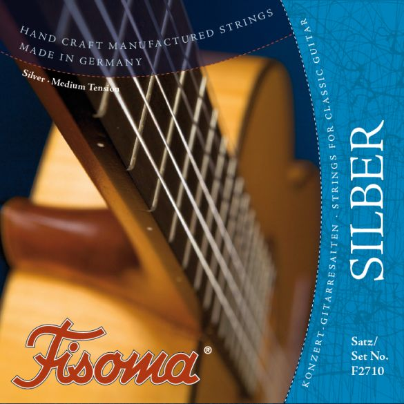 Fisoma F2710 Classical Guitar strings by Lenzner