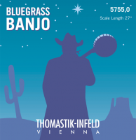 Thomastik-Infeld 5755 5 string Banjo w/loop end