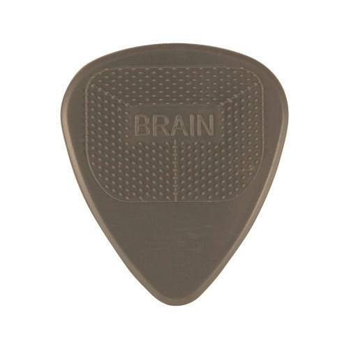 Snarling Dogs Brain Picks Grey 1.00mm (12 pack)