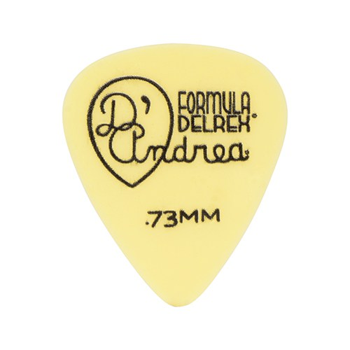 Delrex Guitar Pick .73mm (12 pack)