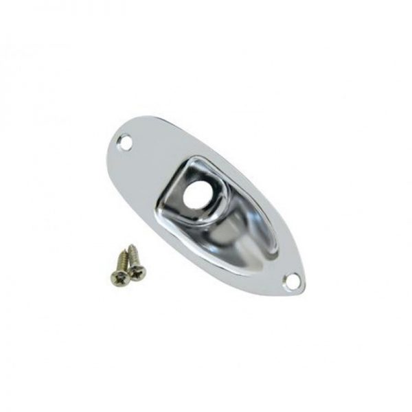 DiMarzio FG1800C Replacement Jack Plate Strat Chrome