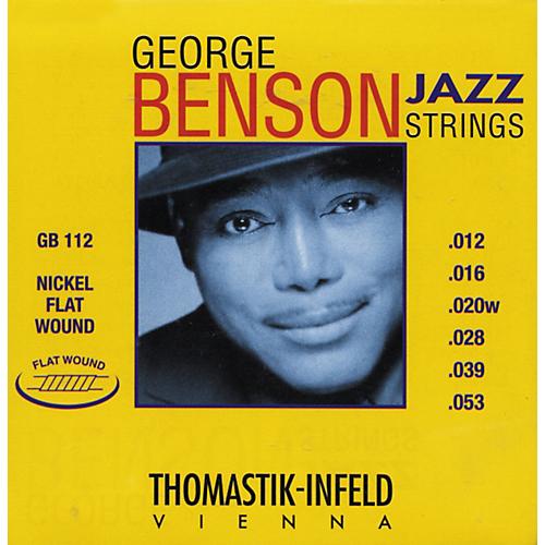 Thomastik-Infeld GB112 George Benson Nickel Flat Wound