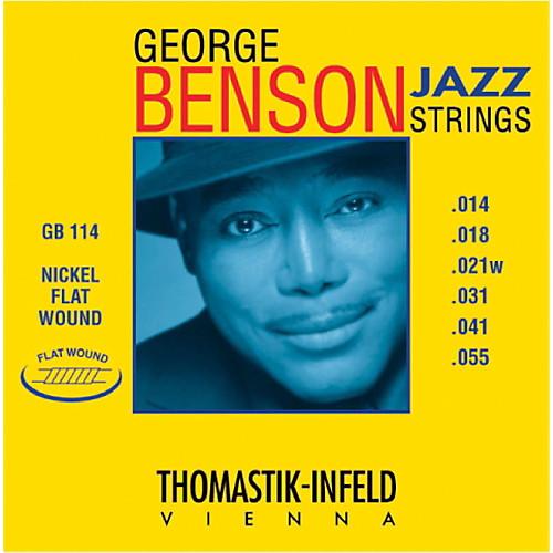 Thomastik-Infeld GB114 George Benson Nickel Flat Wound