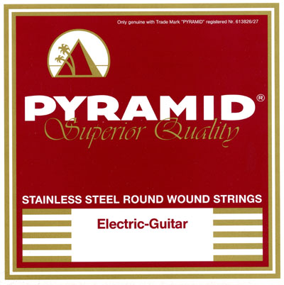 Pyramid 1356S Stainless Steel Round Wound .013-.056