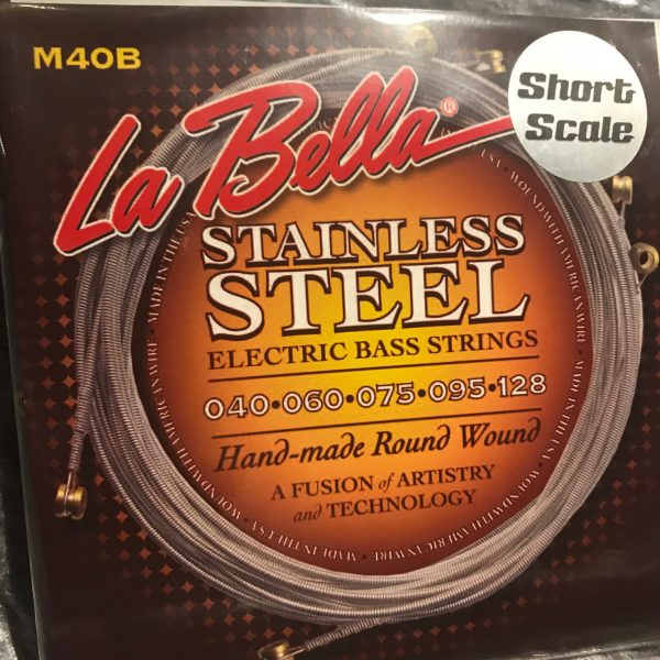 La Bella M40B-S SS RW 5 String XL 40-128 SHORT SCALE
