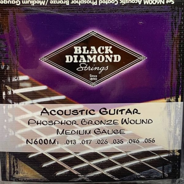 Black Diamond N600M Phosphor Bronze Medium