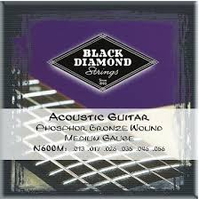 Black Diamond N600M Phosphor Bronze Medium