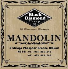 Black Diamond N774 Phosphor Bronze Mandolin Set Medium