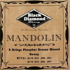Black Diamond N776 Phosphor Bronze Mandolin Set Heavy
