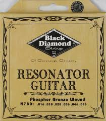 Black Diamond N780 Phosphor Bronze Resonator Guitar