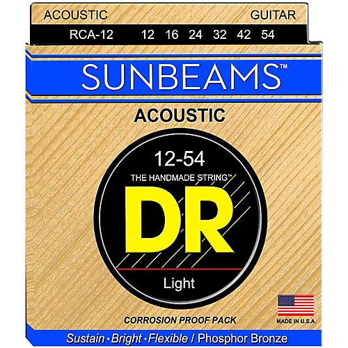 DR Sunbeam Phosphor Bronze Light 12-54