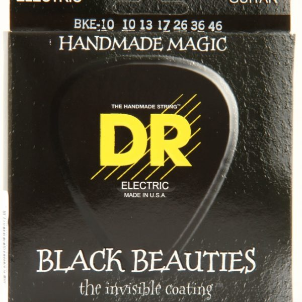 DR BLACK BEAUTIES Black Coated Electric Medium 10-46