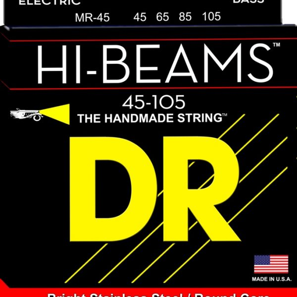 DR HIGH-BEAM Stainless Steel Bass Medium 45-105