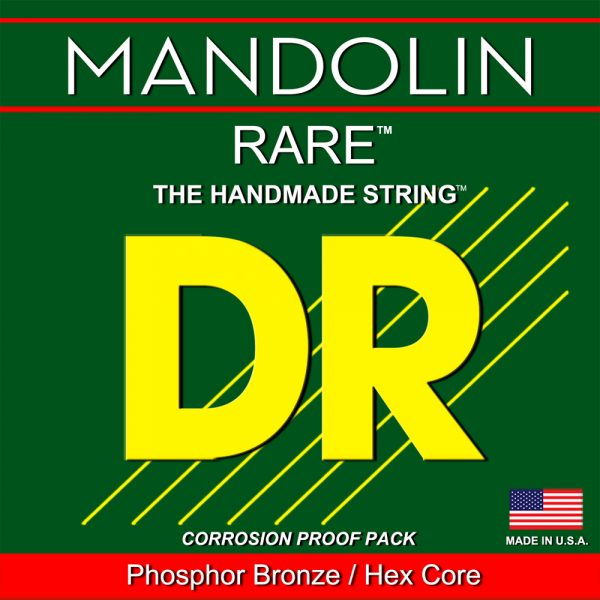DR Rare Phosphor Bronze Mandolin Bluegrass 12-41