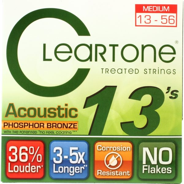 Cleartone Medium Phosphor Bronze .013-.056