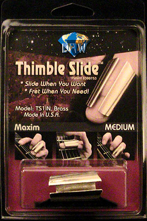 Thimble Slide Maxim Brass-Extra Large