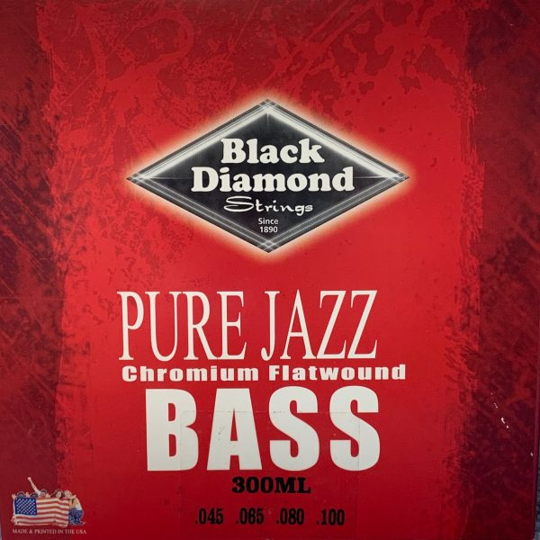 Black Diamond N300ML Pure Jazz Chromium Flat Wound