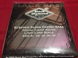 Black Diamond N500LB Black Coated Nickel Bass 40-100